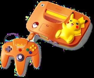 Orange_Pikachu_N64