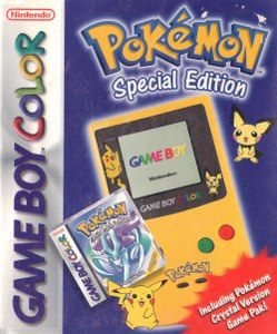 Bundle con Pokémon Crystal